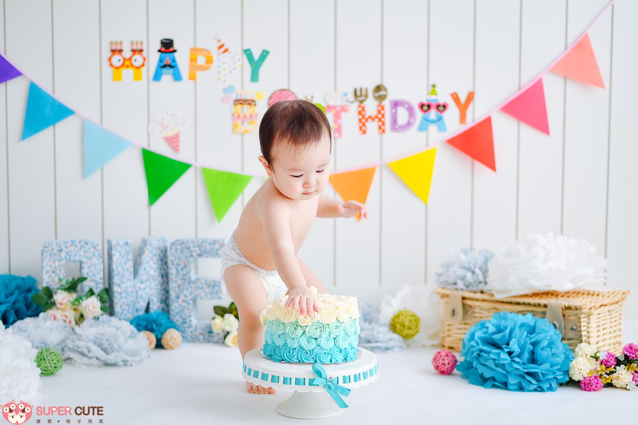 寶寶寶寫真CAKE SMASH
