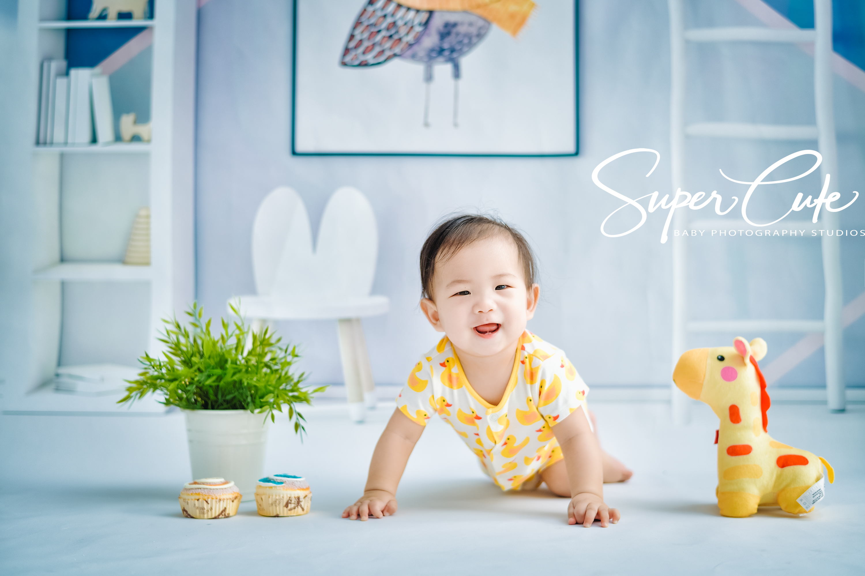 超可愛,寶寶寫真,推薦兒童寫真,八個月,SUPERCUTE